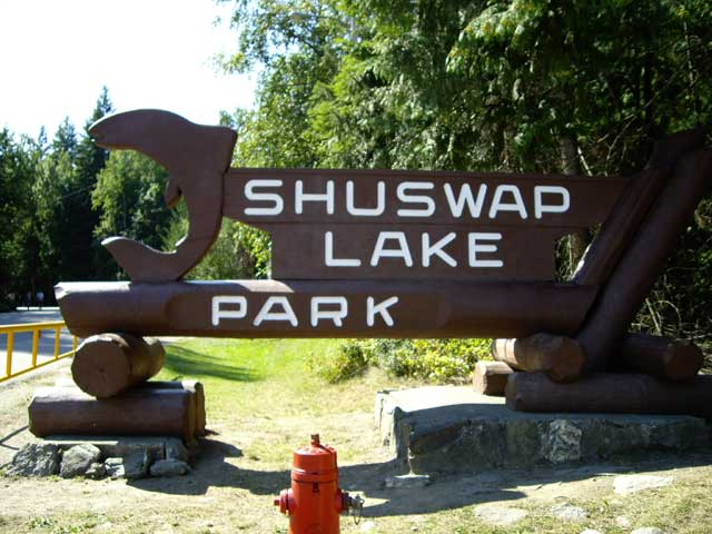Shuswap bc campgrounds with hookups