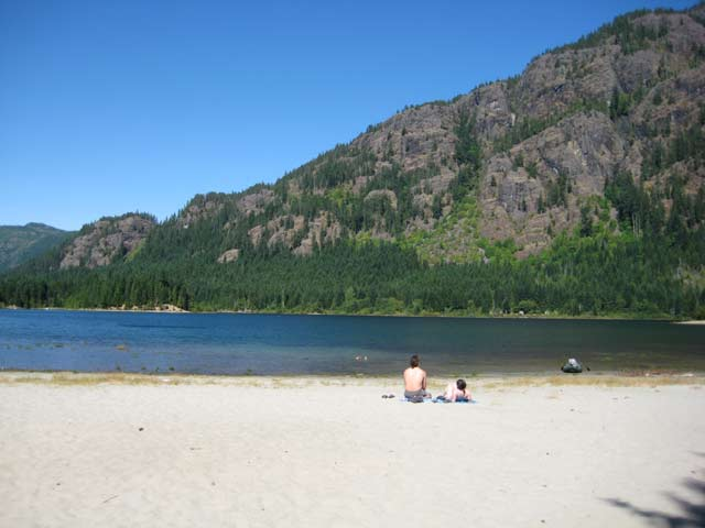Vancouver Island Campsites Buttle Lake Strathcona Park