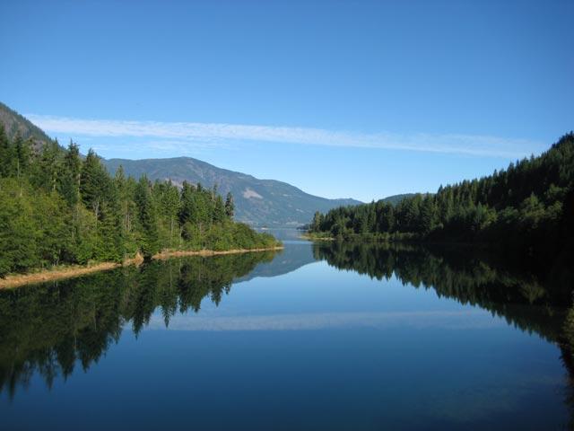 Strathcona Provincial Park, Buttle Lake Campground, Della Falls