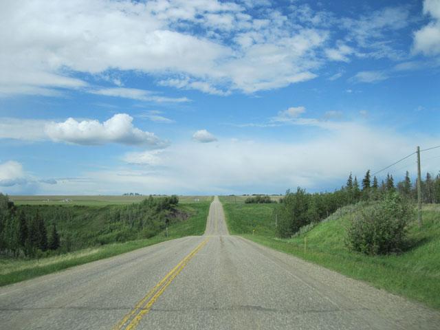 Dawson Creek Alaska Highway Mile 0 Monument Oil