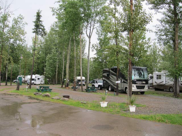Fort nelson bc campgrounds with hookups