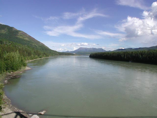 Liard River Hot Springs Provincial Park Suspension