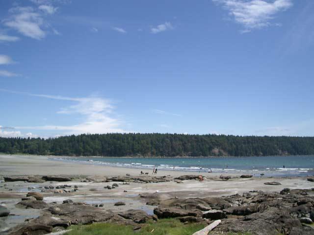 Hornby Island Denman Island Tribune Bay Provincial Park