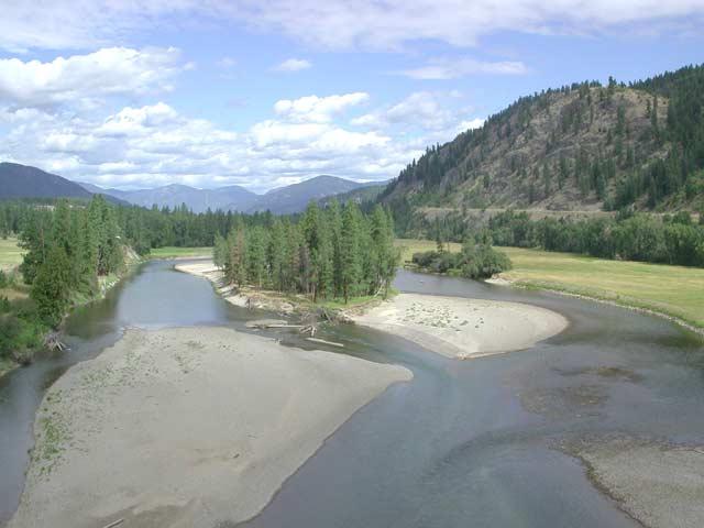 Christina Lake Bc Map Gladstone Provincial Park Trans