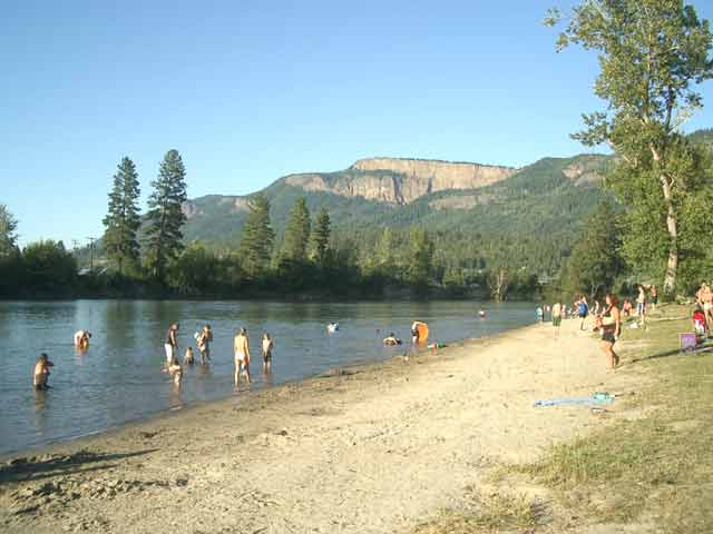 Enderby Bc Map Shuswap River Mabel Lake Bc Forest