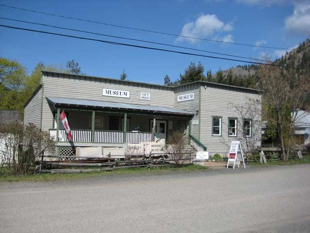 Hedley, BC Map, Mascot Mine Museum, Similkameen River, Bromley Rock