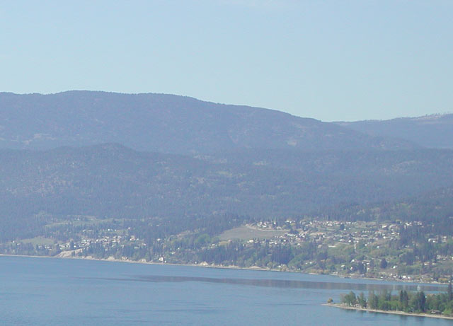 Peachland Bc Map Okanagan Lake Hardy Falls Headwaters