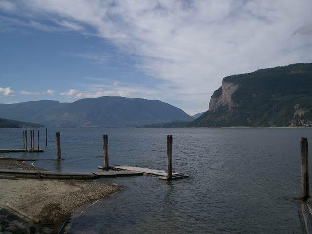 Salmon Arm Bc Map Sandy Beaches Shuswap Lake Provincial Parks
