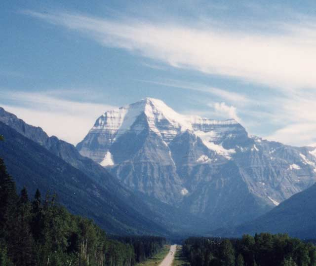 Mcbride Bc Robson Valley Rocky Mountains Mount Robson